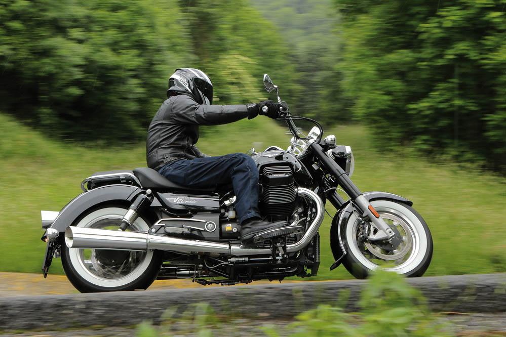 Moto Guzzi Eldorado. Prueba
