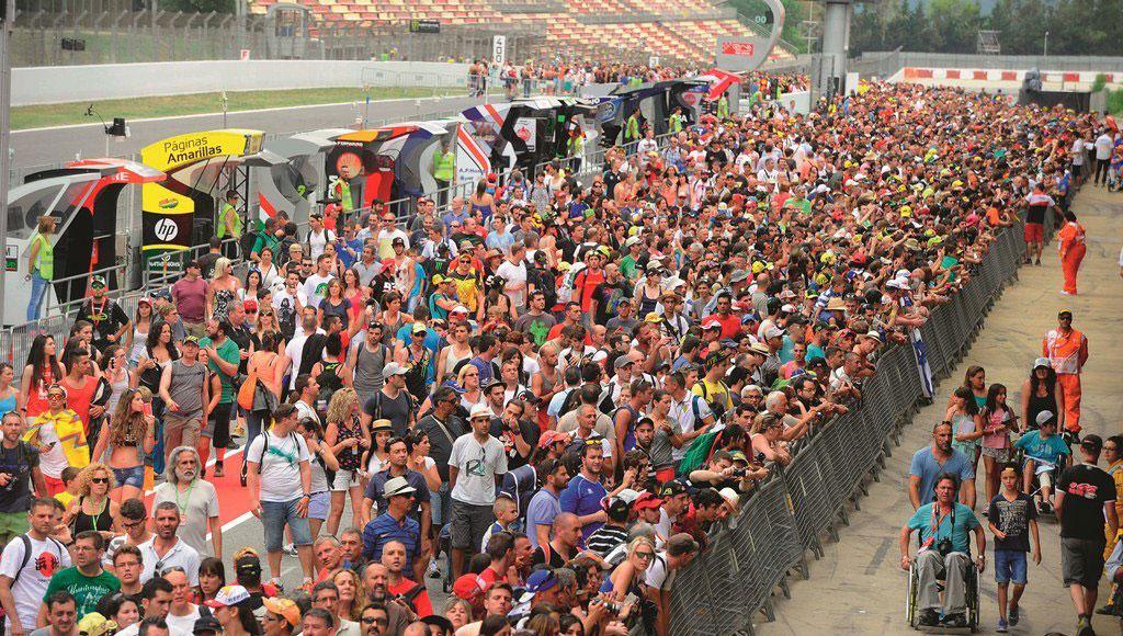 Todas las actividades del Gran Premio de Catalunya