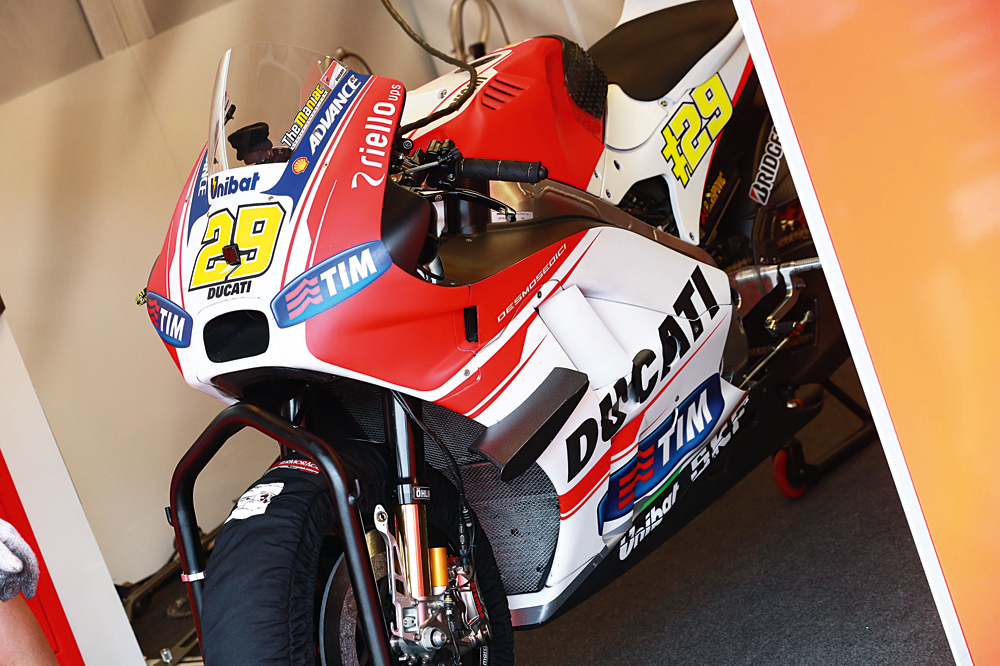El súper motor de Ducati