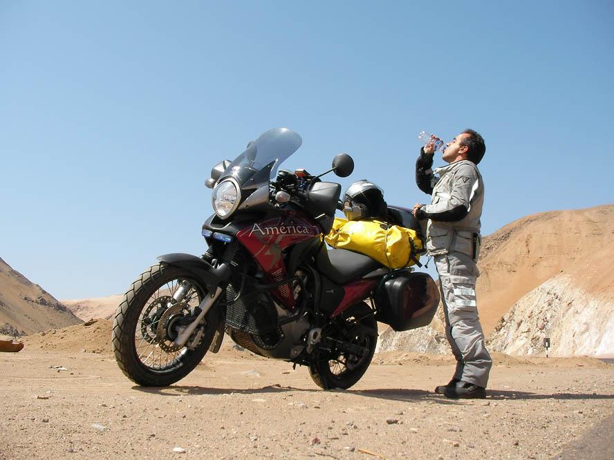 América en moto (III): Entre dos amores