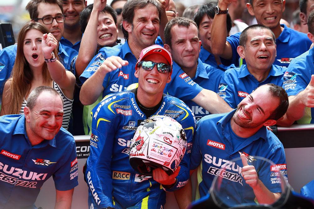 Aleix Espargaró: Si no estoy en el podio no estaré contento