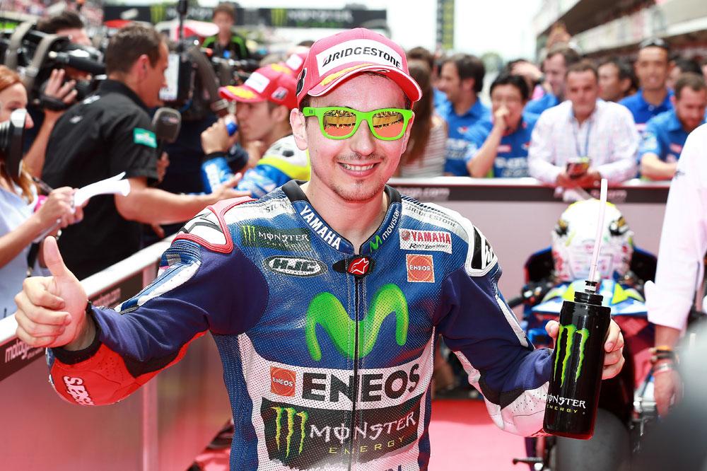 Jorge Lorenzo: Parece que las Suzuki están ahí, pero las carreras son el domingo