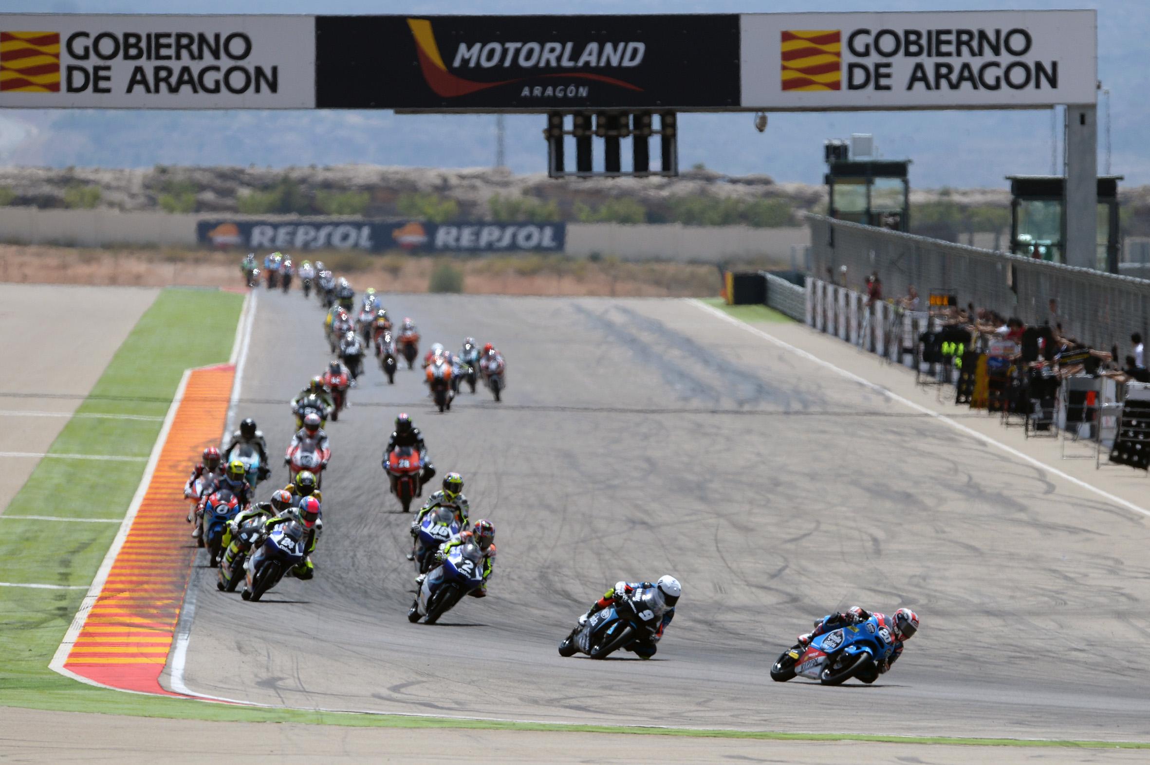MotorLand Aragón acoge el FIM CEV Repsol