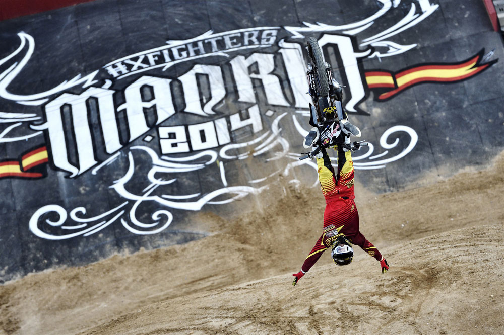 El Red Bull X-Fighters aterriza en Madrid