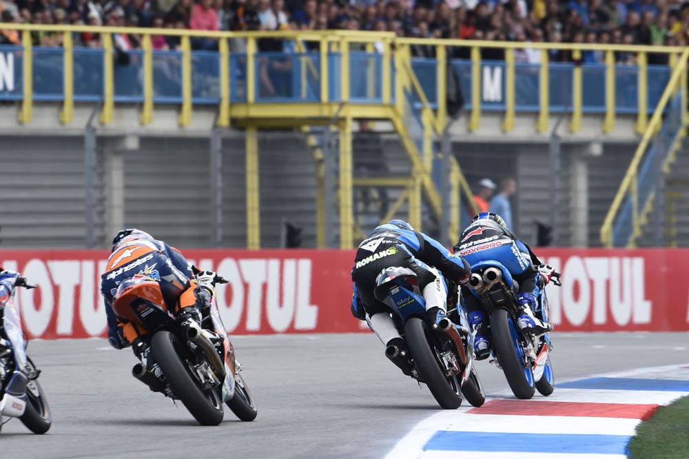 Los pilotos de Moto3 más vigilados