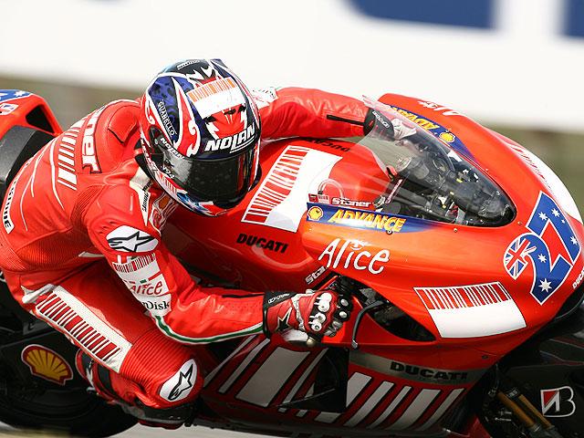 Stoner (XIII Parte), en un circuito Ducati