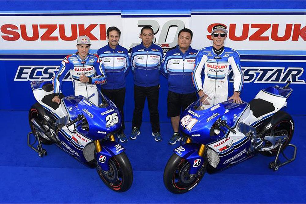 Suzuki se viste de los 80