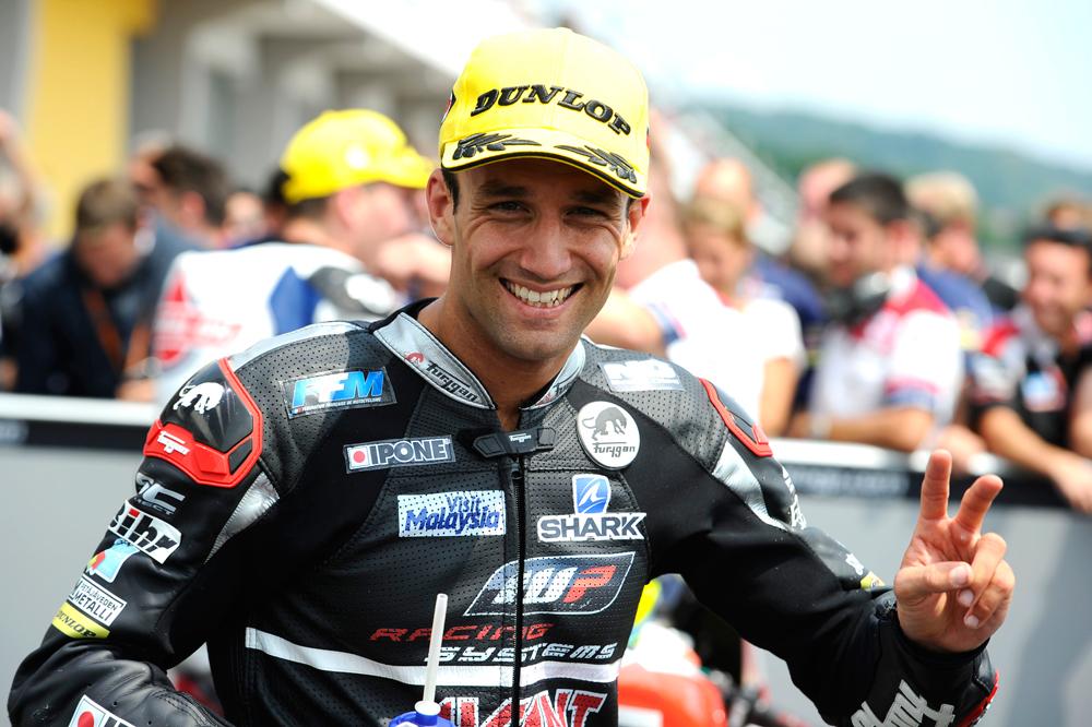 Johann Zarco muy cerca de MotoGP