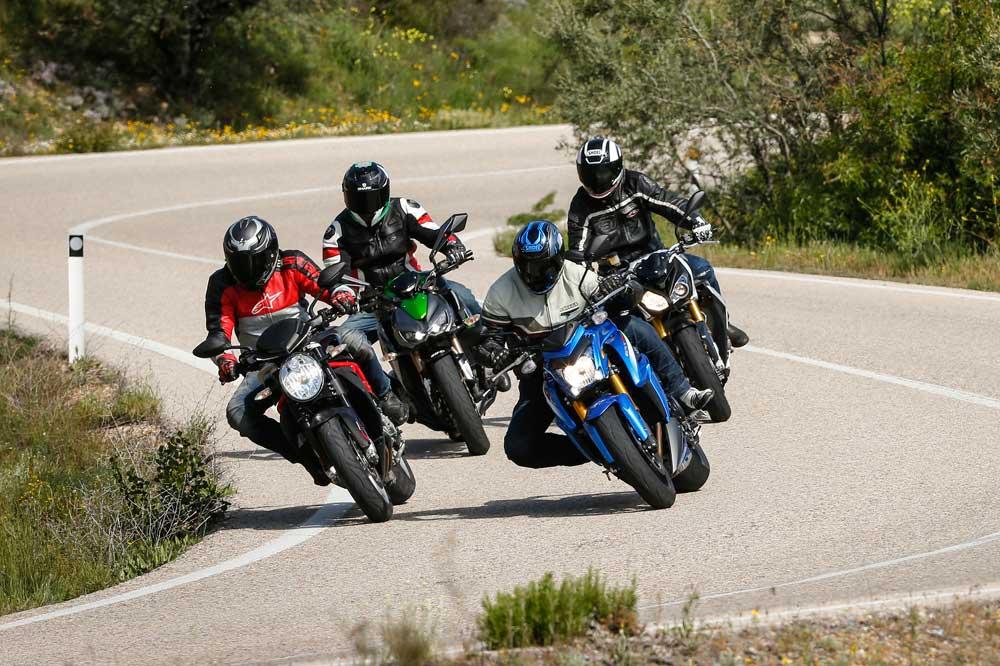 Comparativa naked 1000: BMW, Kawasaki, MV Agusta y Suzuki