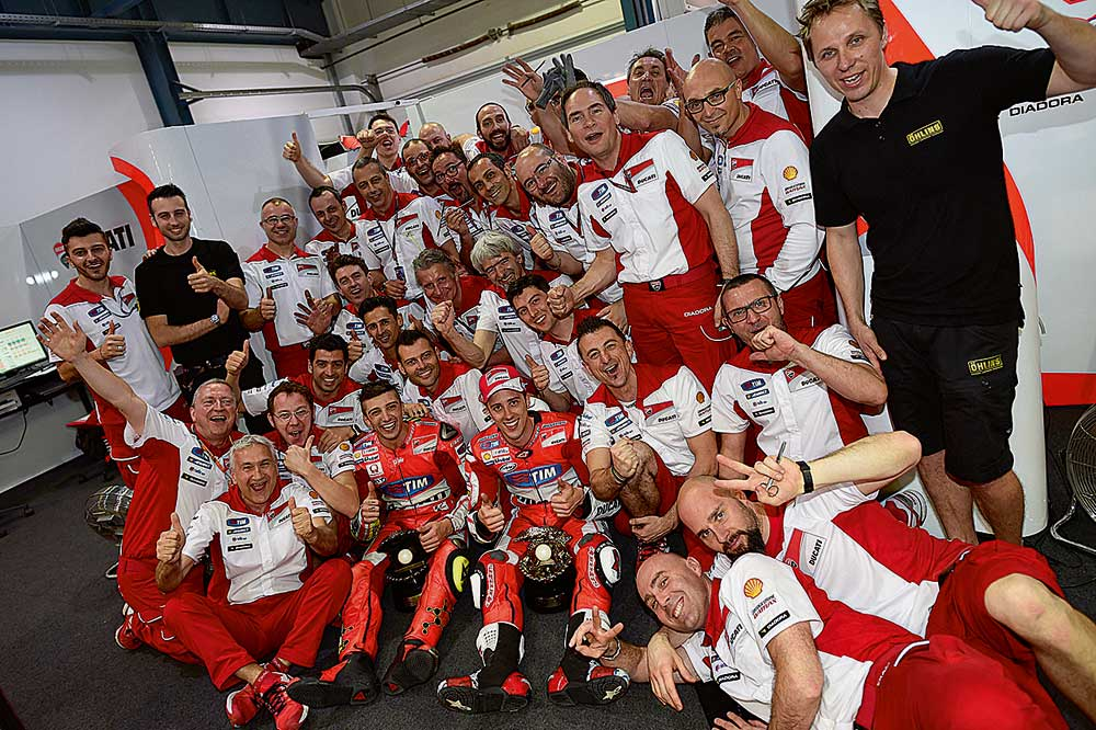 El secreto de Ducati en MotoGP