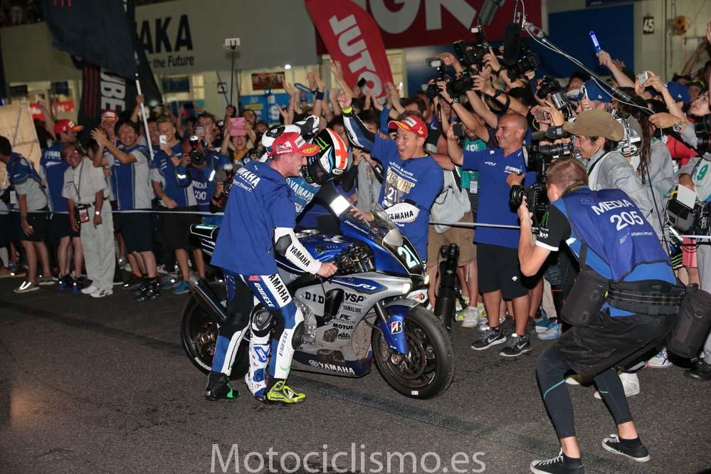 Victoria del equipo Yamaha en las 8 Horas de Suzuka