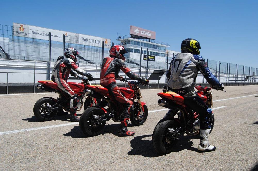 La Moto3 Naked Cup MSD llega al Jarama