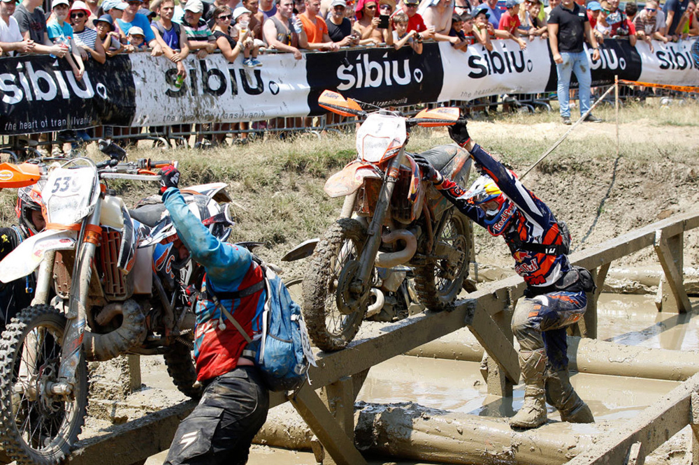 Walker gana el Red Bull Romaniacs