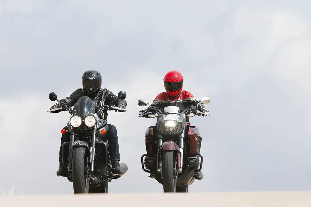 Comparativa Muscle Bikes: Honda Gold Wing F6C-Triumph Rocket X Limited EDI.