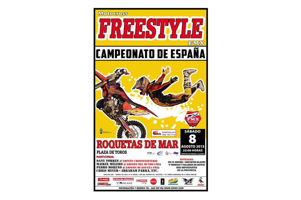 Roquetas de Mar se cita con el Freestyle