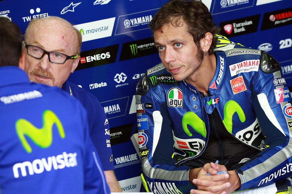 Valentino Rossi: Ha sido el peor viernes del año