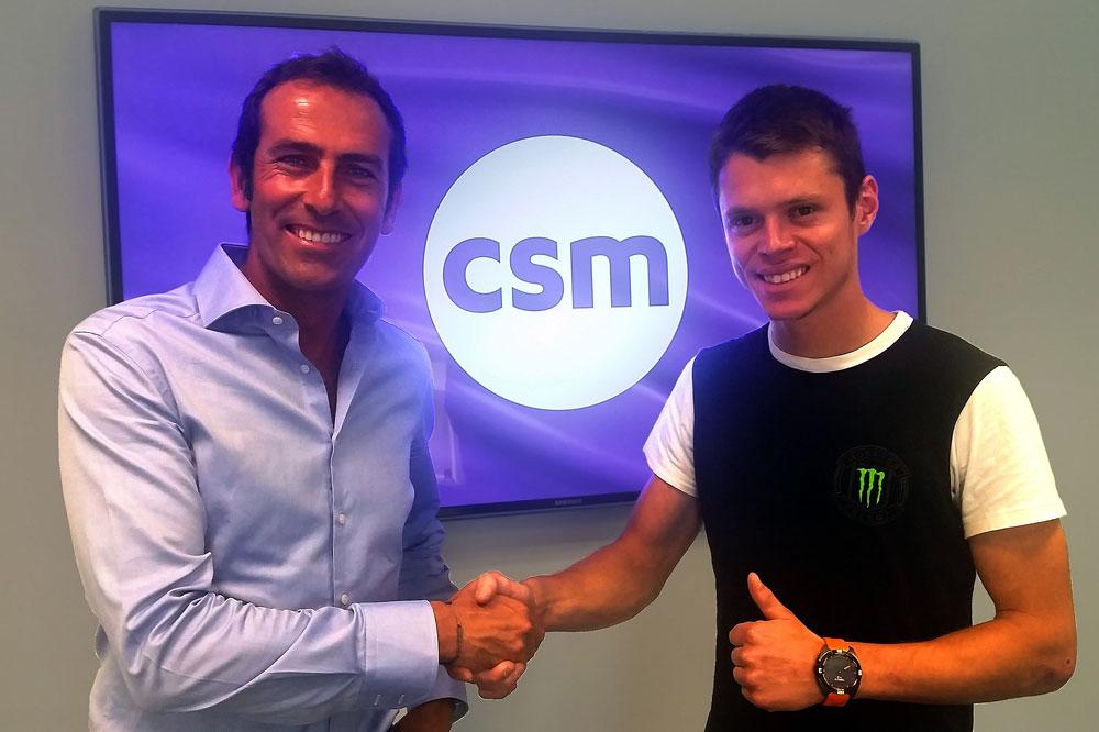 CSM aterriza en MotoGP con Tito Rabat