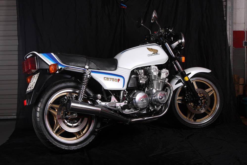 Moto clásica: Honda CB750F