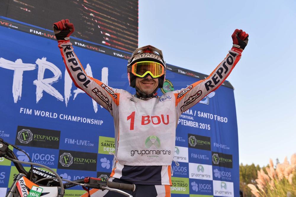 Toni Bou suma su noveno título mundial de Trial