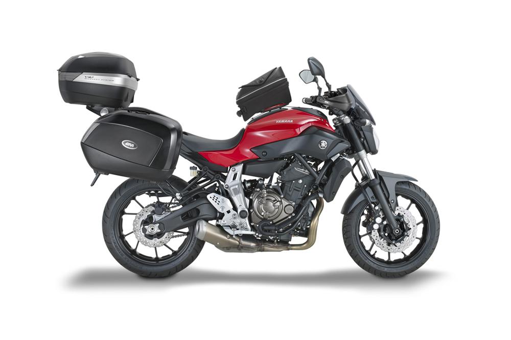 Accesorios GIVI para la Yamaha MT-07