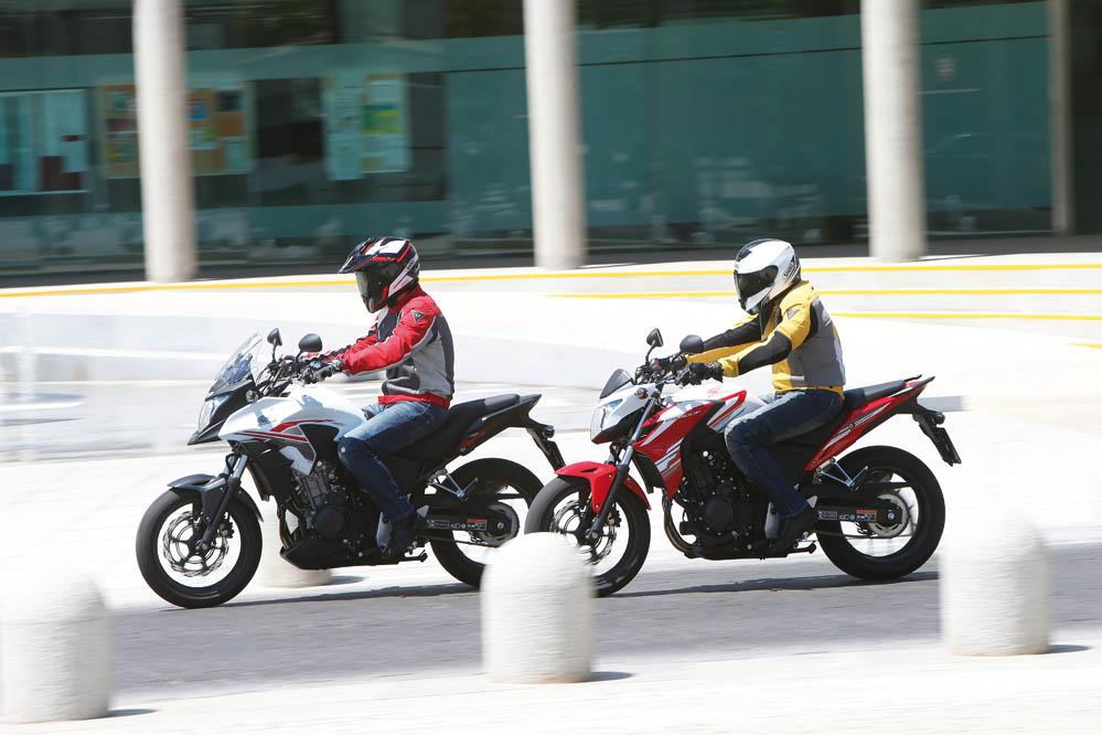 Comparativa: Honda CB500F-CB500X ABS