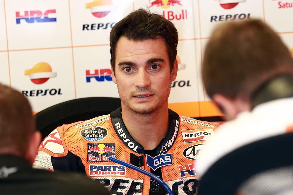 Dani Pedrosa: En el campeonato no solo corren Rossi y Lorenzo