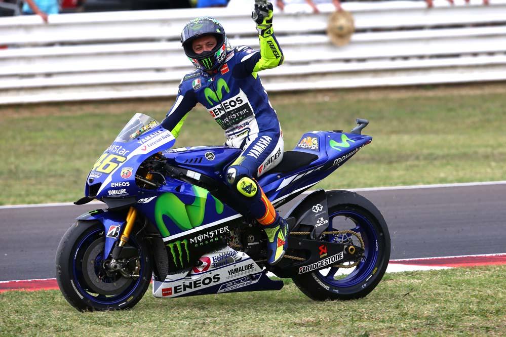 Rossi: Es una pena porque lo mínimo en Misano es estar en el podio, pero es un gran resultado por la caída de Lorenzo