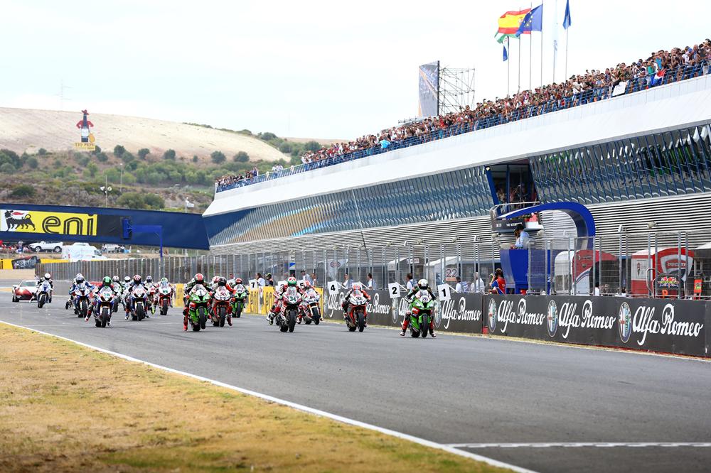 Horarios del Mundial de SBK en Jerez