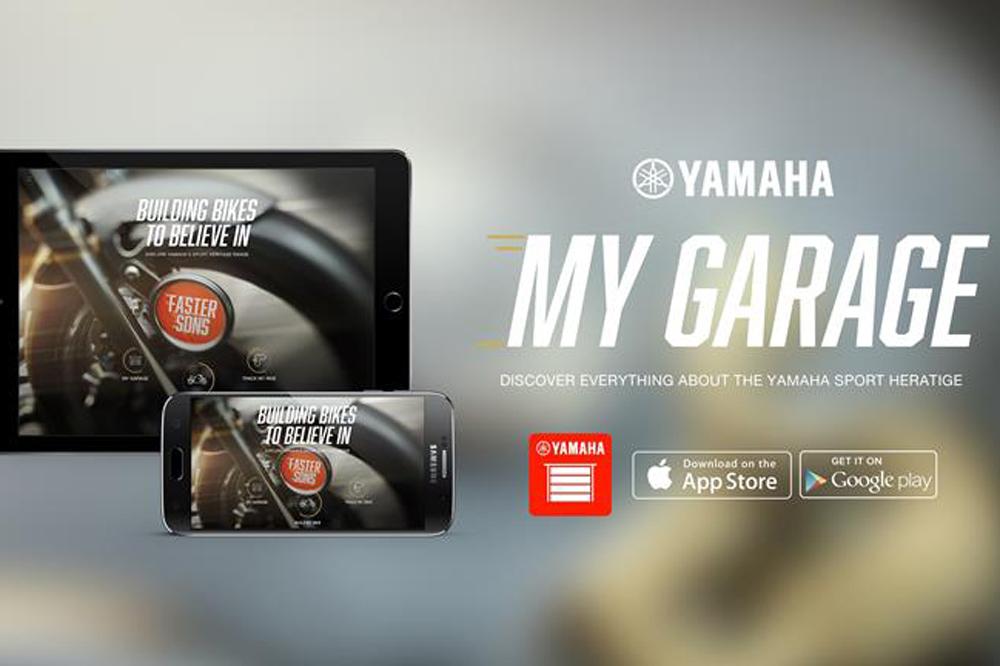 My Garage, la nueva App de Yamaha