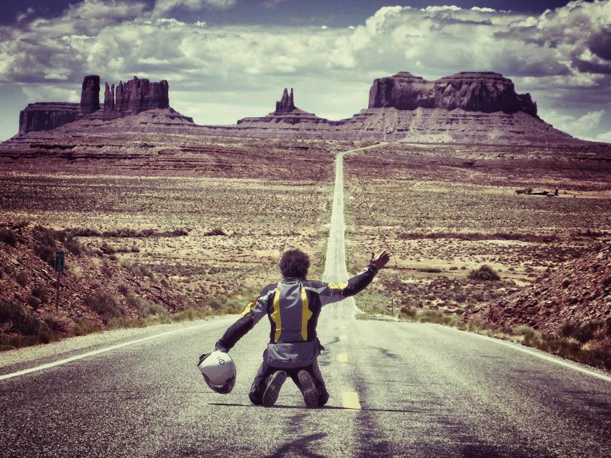 Polo Arnáiz y su aventura en moto cruzando América