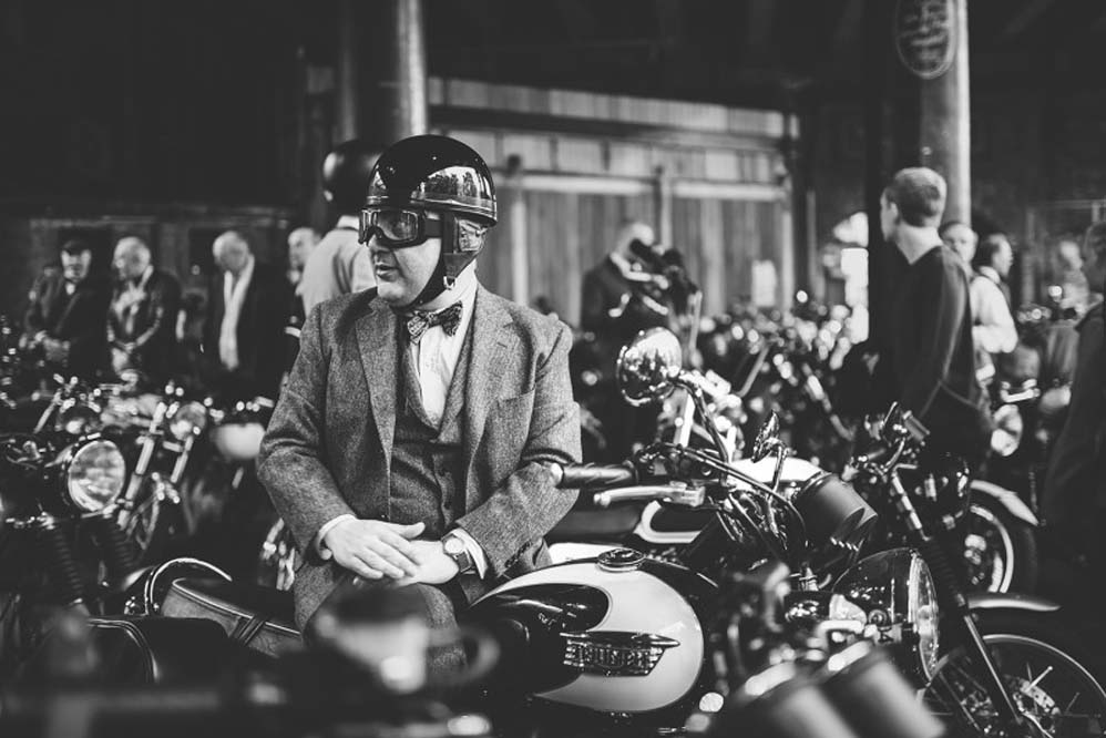 Triumph Distinguished Gentlemans Ride 2015