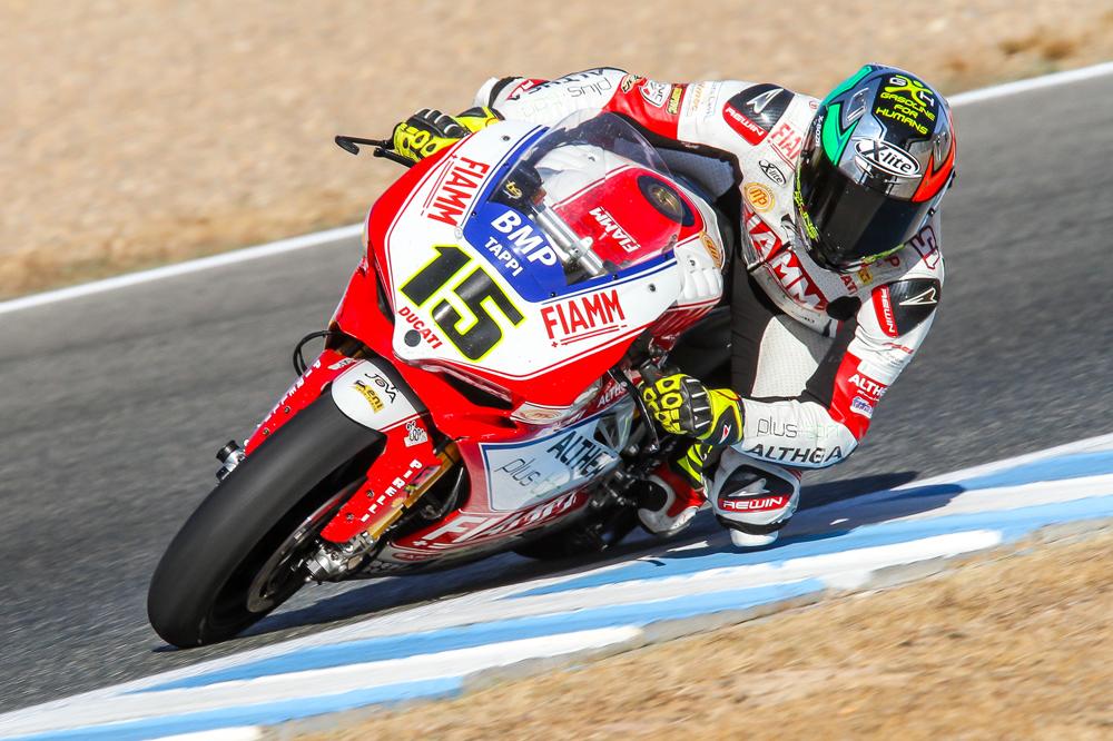 Matteo Baiocco, el más rápido en los test de Jerez