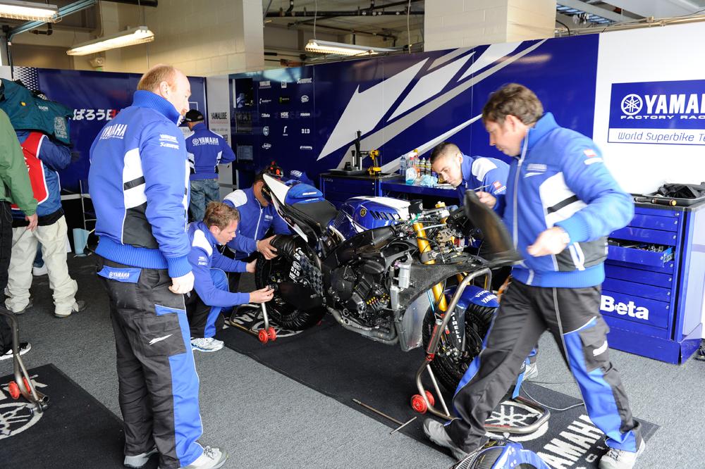 Yamaha regresa al Campeonato del Mundo de SBK