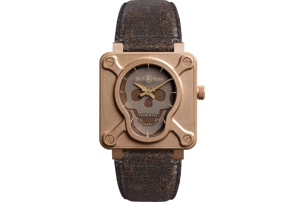 Reloj Bell & Ross BR 01 Skull Bronze