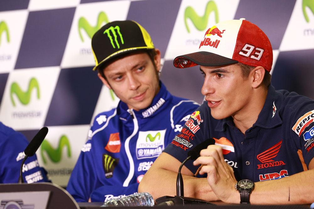 Marc Márquez: Jorge es más rápido, pero Valentino tiene más experiencia