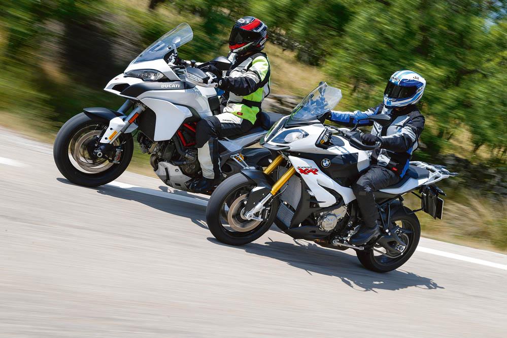 Comparativa: BMW S 1000 XR-Ducati Multistrada S