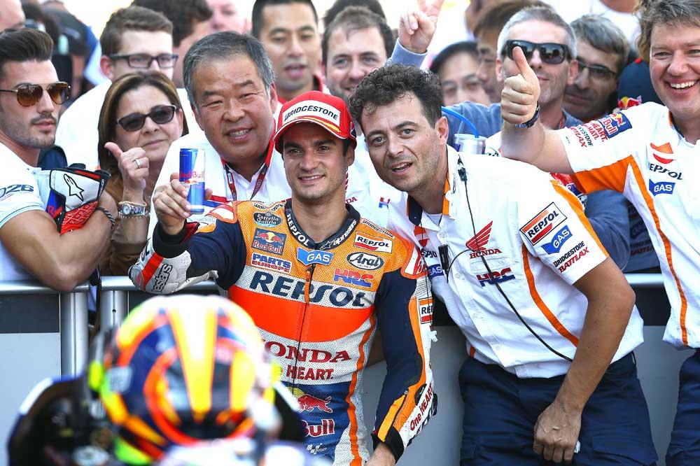 Dani Pedrosa: Luchar con Rossi siempre es muy difícil, sobre todo este año