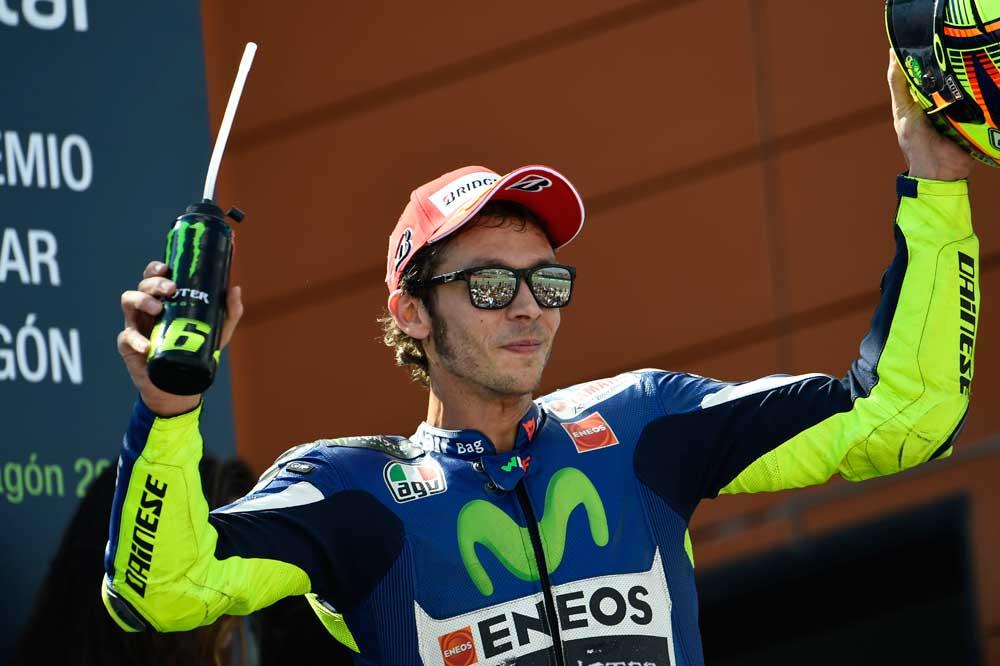 Rossi: Confiaba en Dani, sabía que sería una lucha al límite pero limpia