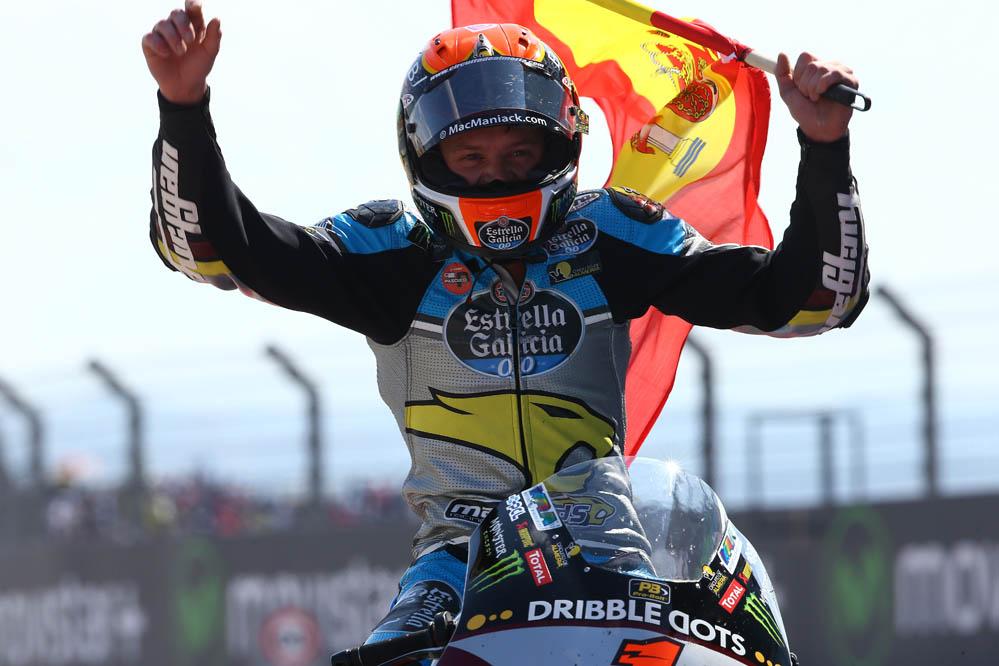 Tito Rabat: Ha sido una de mis mejores últimas vueltas en Moto2