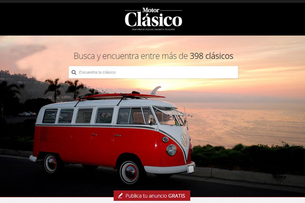 Mercadoclasico: vende y compra tu vehículo clásico en la web