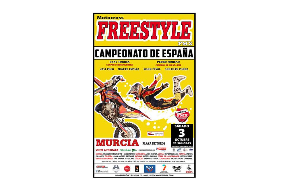Murcia acoge la quinta prueba del nacional de Freestyle