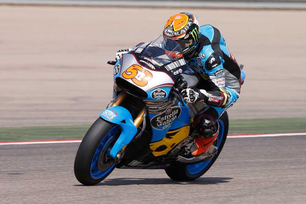 Tito Rabat, a MotoGP con el Estrella Galicia 0'0 Marc VDS