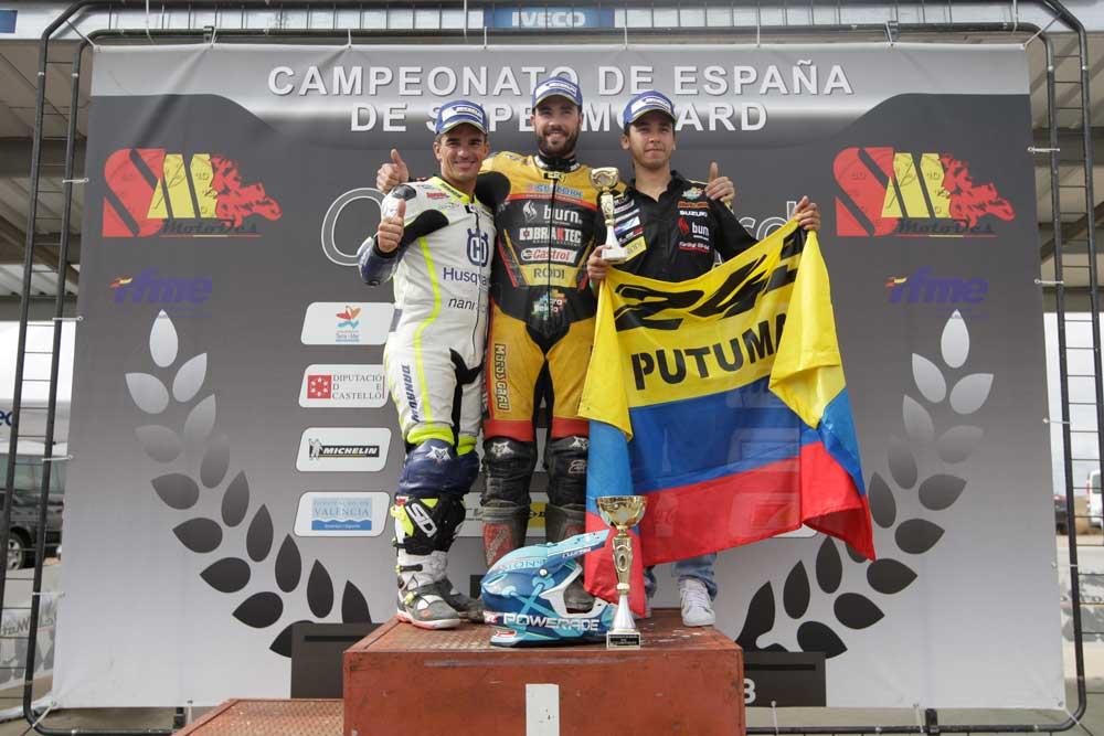 David Giménez, Campeón de España de Supermotard 2015