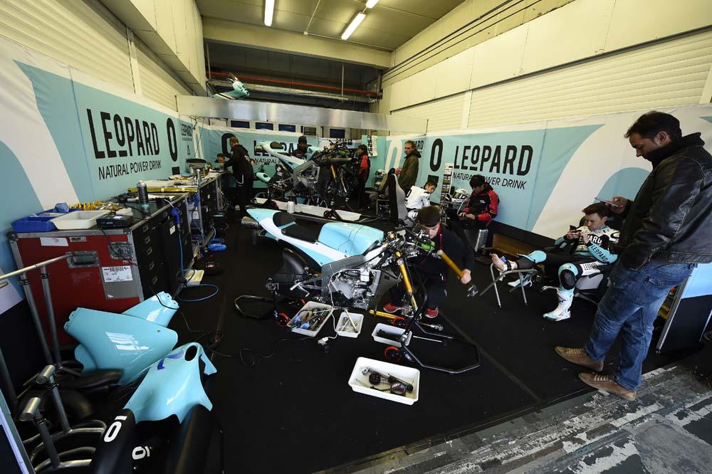 Leopard Racing con KTM en 2016
