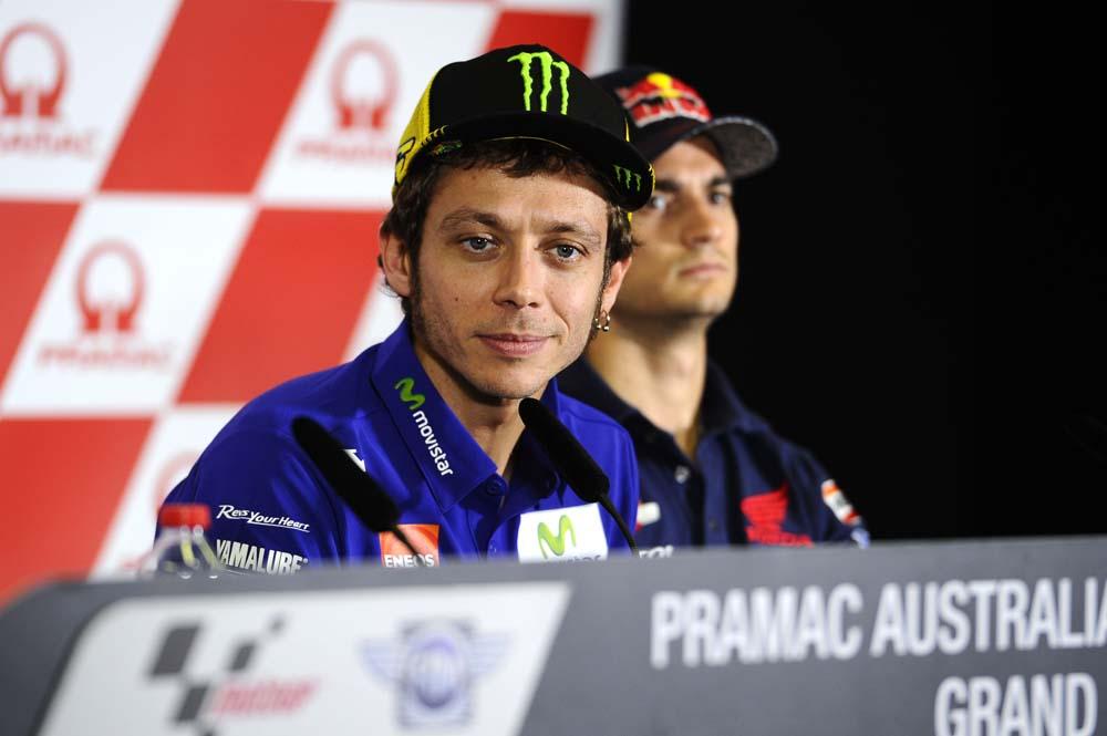 Valentino Rossi: Estoy contento con mi ritmo pero no con mi posición
