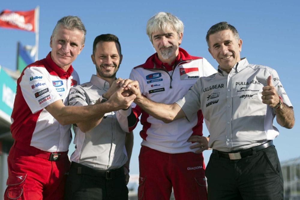 Aspar correrá con Ducati en 2016