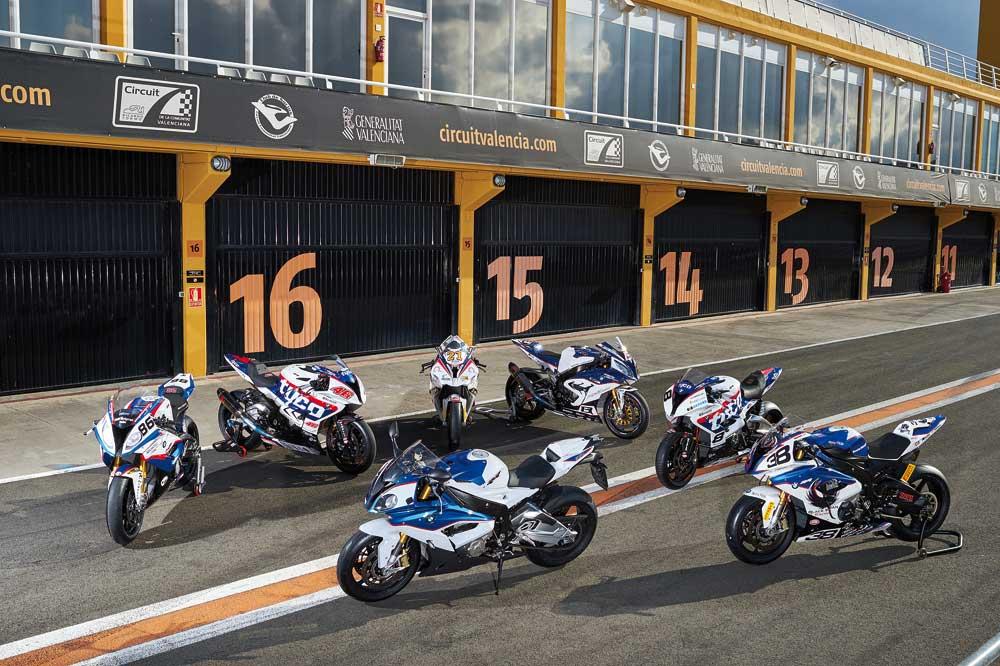 Pruebas de la BMW de Superbike 2015