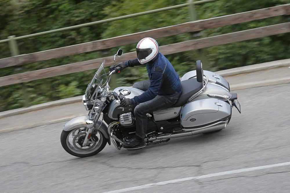 Prueba de la Moto Guzzi California Touring