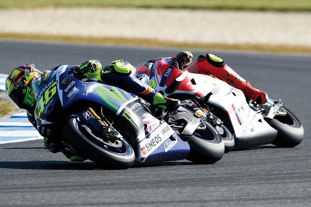 Valentino Rossi: La Yamaha tiene el punto débil en la velocidad punta