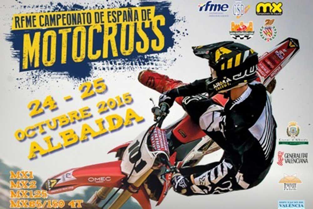El Nacional de Motocross finaliza este fin de semana